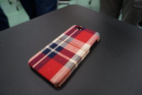 iPhone5 ファブリックケース
